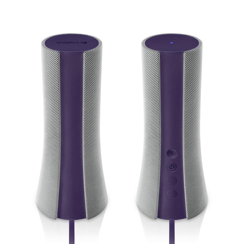 Enceinte PC Logitech Bluetooth Speakers Z600 (Violet) Ensemble 2.0 Bluetooth