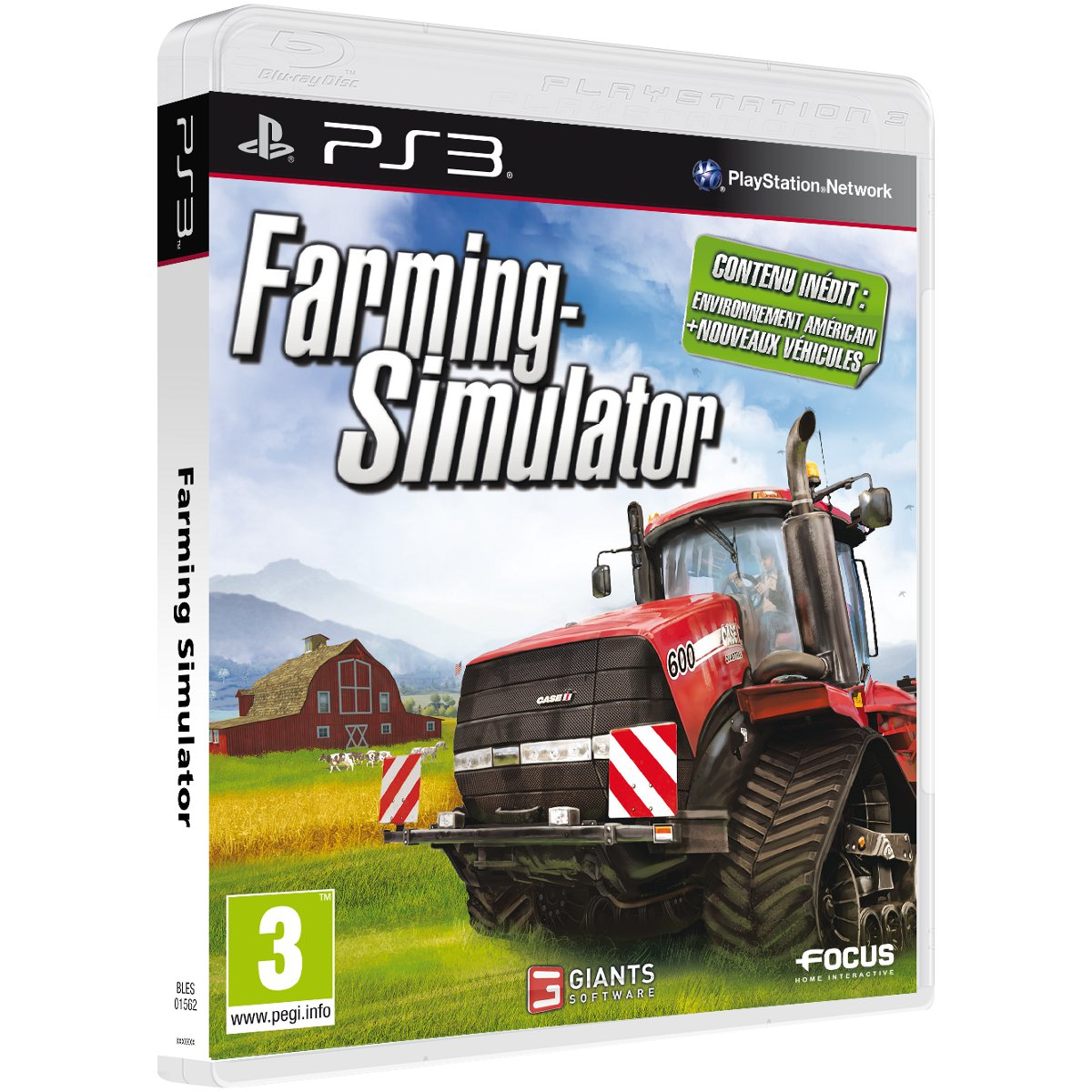 LDLC.com Farming-Simulator 2013 (PS3) Farming-Simulator 2013 (PS3)