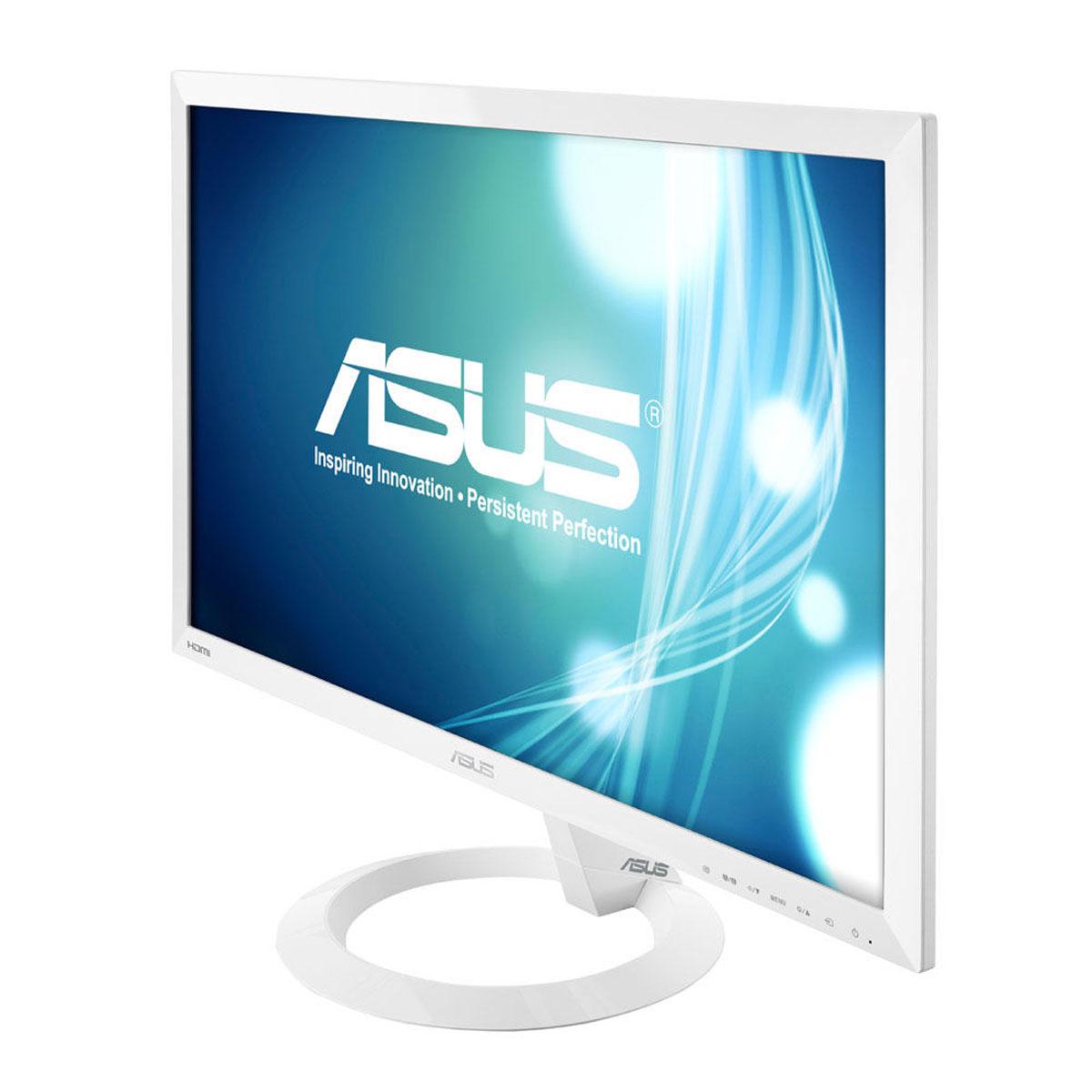 Asus 23 led vx238h w blanc ecran pc asus sur ldlc for Ecran pc blanc 24 pouces