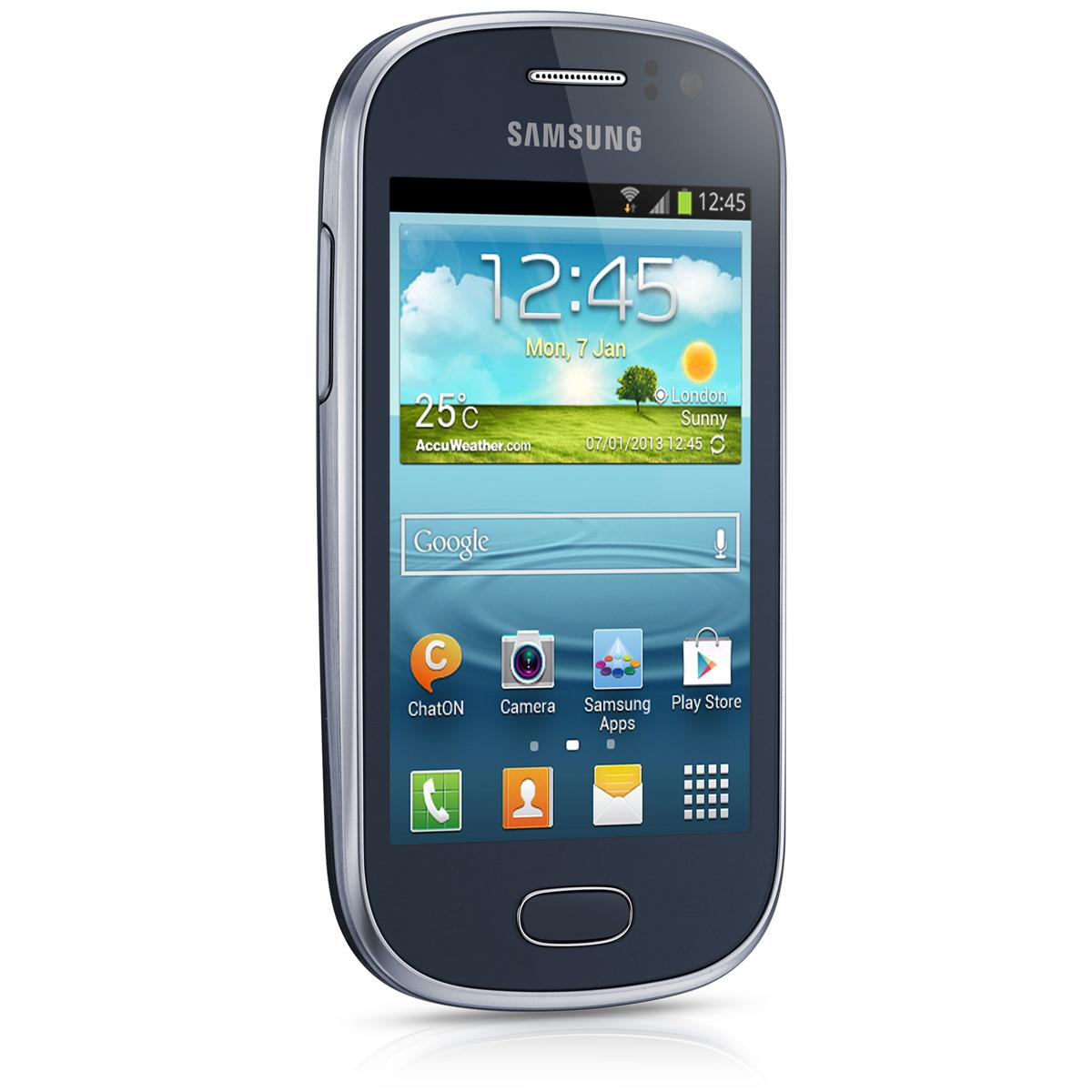 """Mobile & smartphone Samsung Galaxy Fame Lite GT-S6790MK Noir Smartphone 3G+ avec écran tactile 3.5"""" sous Android 4.1"""