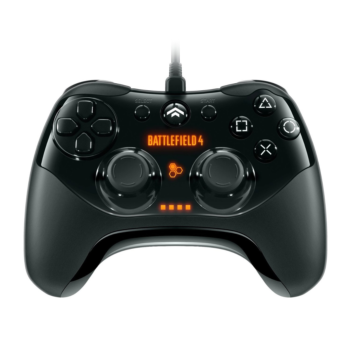 pdp controller wired battlefield 4 ps3 accessoires xbox 360 pdp sur ldlc. Black Bedroom Furniture Sets. Home Design Ideas