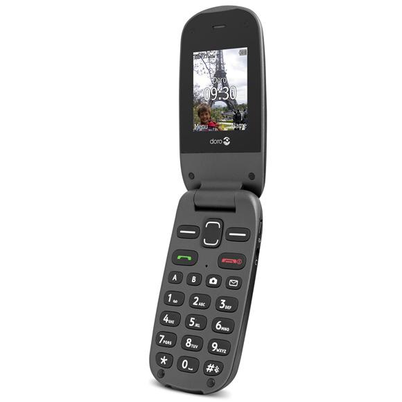 Mobile & smartphone Doro PhoneEasy 607 Noir Téléphone mobile à grosses touches