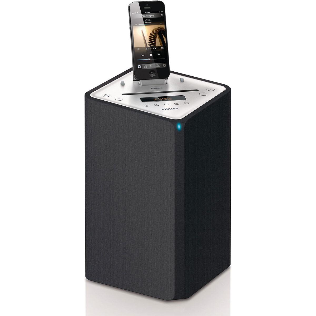 Dock & Enceinte Bluetooth Philips DTM3155 Station d'accueil Bluetooth avec connecteur Lightning pour iPod/iPhone