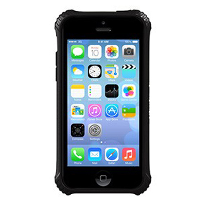 Etui téléphone Griffin Survivor Clear Noire iPhone 5C Coque de protection pour iPhone 5C