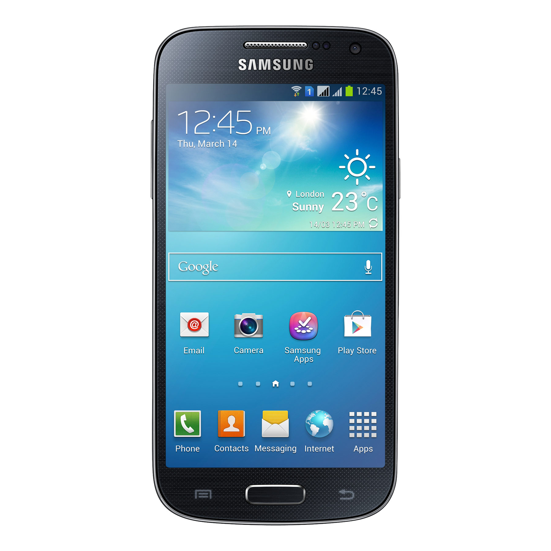 samsung galaxy s4 mini duos gt i9192 noir mobile. Black Bedroom Furniture Sets. Home Design Ideas