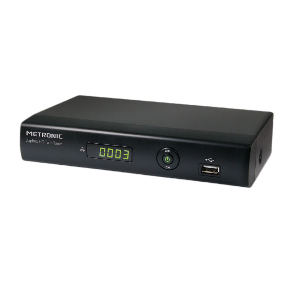 Metronic zapbox eh d2 adaptateur tnt sat metronic sur ldlc - Decodeur satellite hd ...