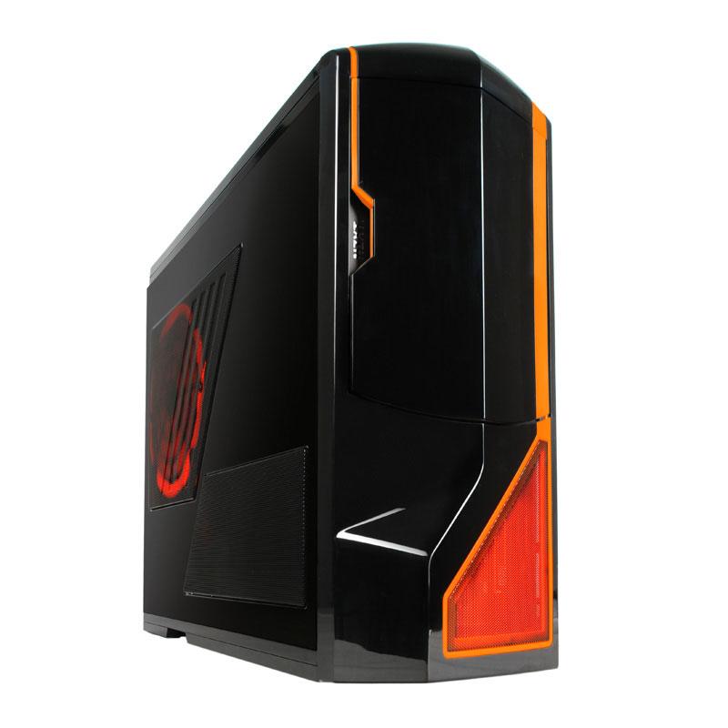 PC de bureau LDLC PC10 Revolution Limited Edition Orange Intel Core i5 6600K (3.5 GHz) 16 Go DDR4 SSD 120 Go + HDD 2 To NVIDIA GeForce GTX 1070 8 Go Graveur DVD Windows 10 Famille 64 bits (monté)