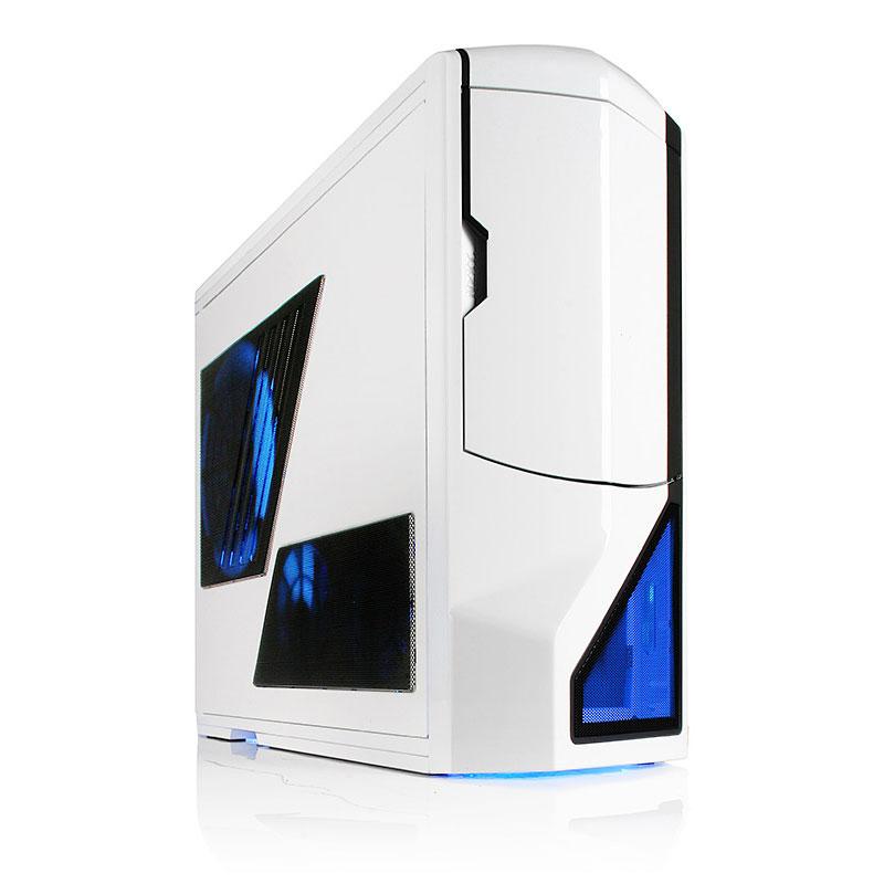 Boîtier PC NZXT Phantom (blanc) - Edition USB 3.0 Boîtier Grand Tour pour gamer