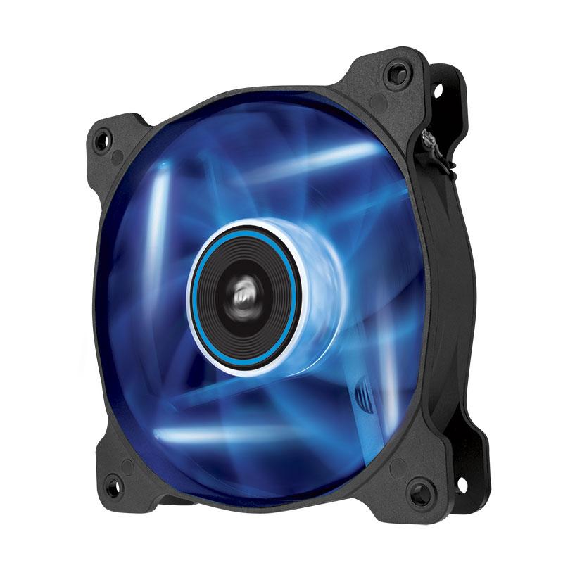 Ventilateur boîtier Corsair Air Series SP120 Blue High Static Pressure Ventilateur de boîtier 120 mm avec LEDs bleues