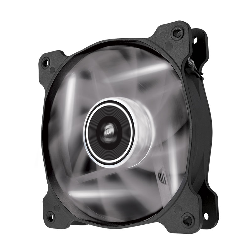Ventilateur boîtier Corsair Air Series SP120 White High Static Pressure Ventilateur de boîtier 120 mm avec LEDs blanches