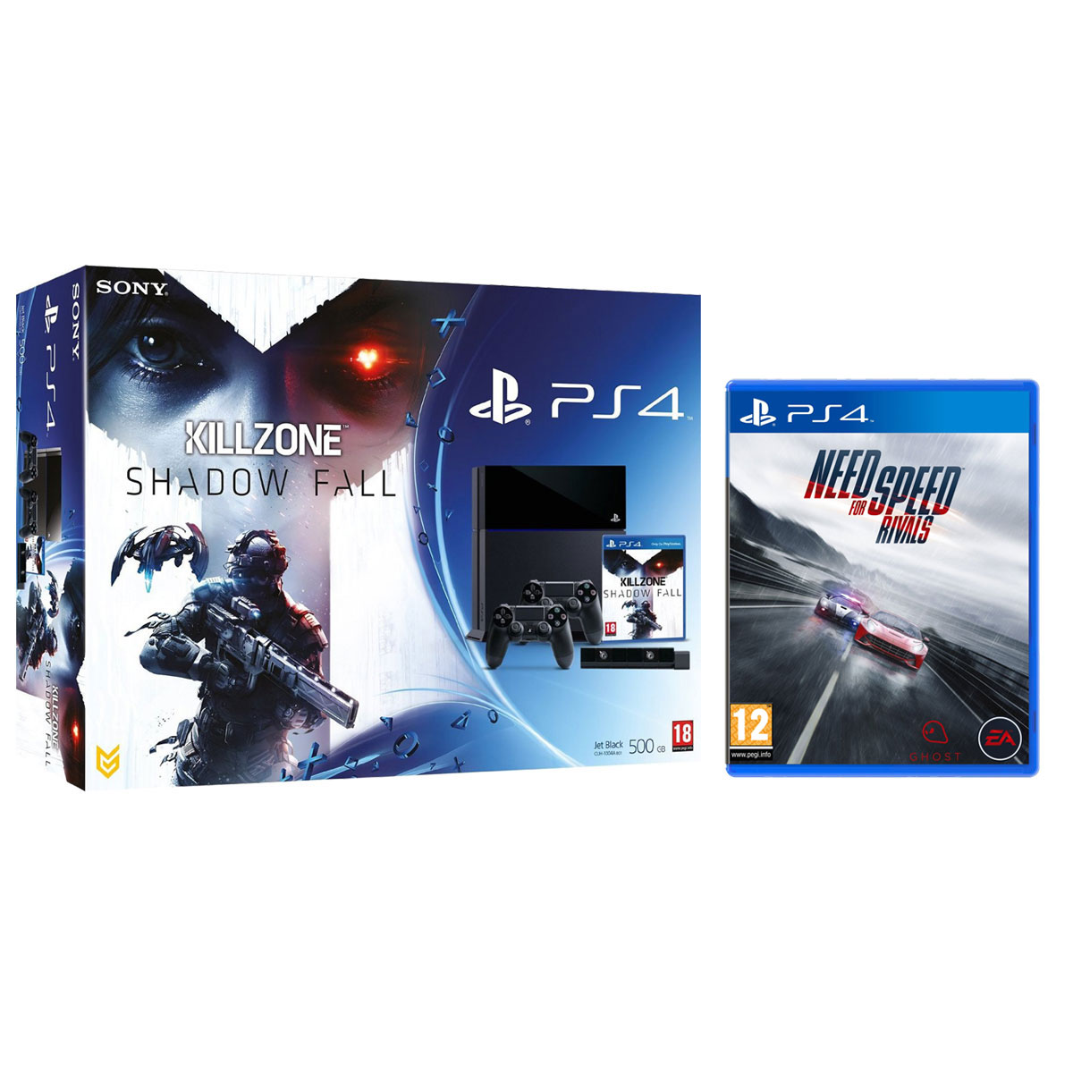sony playstation 4 killzone shadow fall camera dual shock 4 need for speed rivals. Black Bedroom Furniture Sets. Home Design Ideas