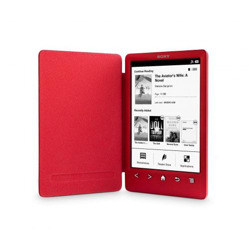 "Liseuse eBook Sony Reader PRS-T3 Rouge Liseuse eBook tactile de 6"" avec Wi-Fi"