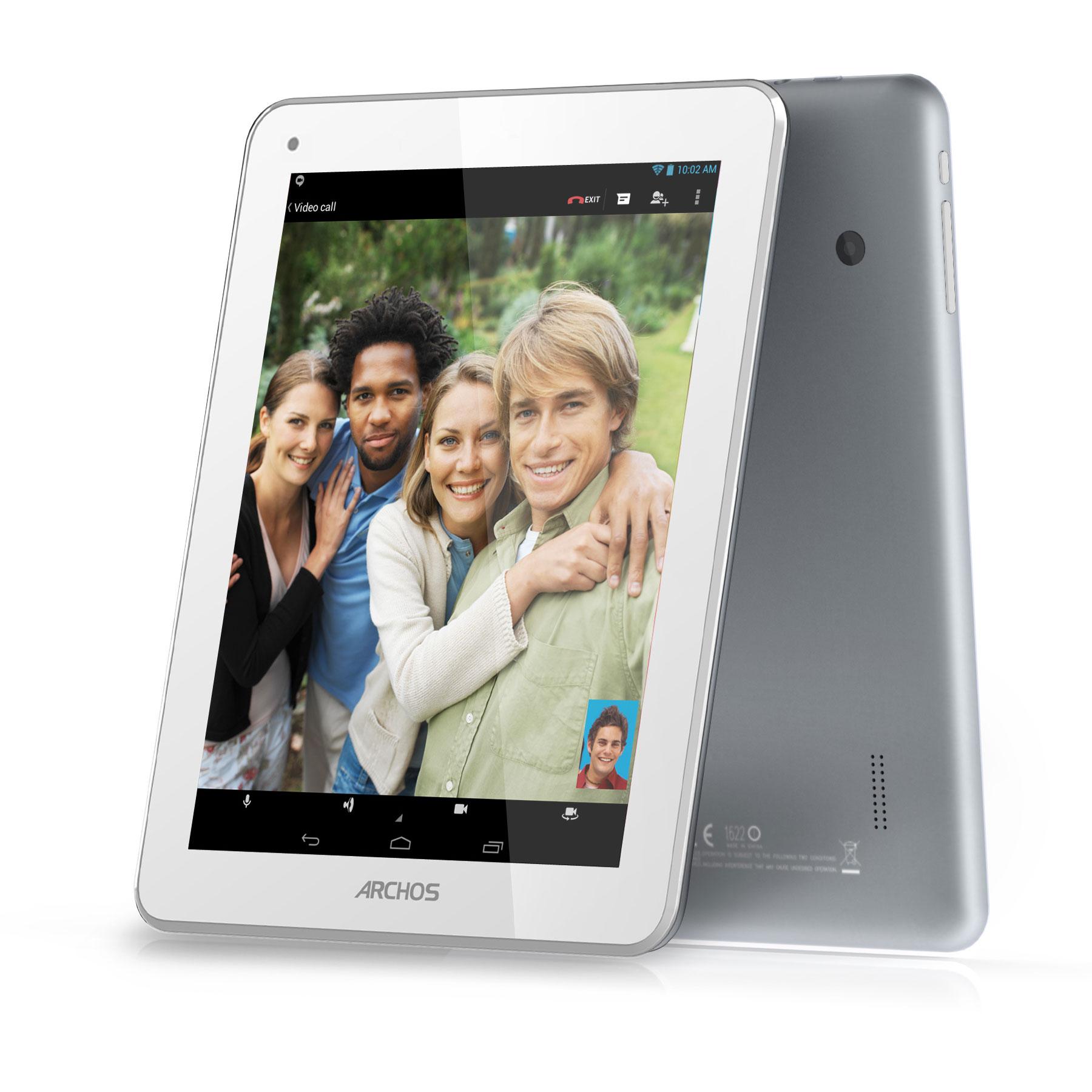 """Tablette tactile Archos 80b Platinum 8 Go Tablette Internet - ARM Cortex A9 1 Go 8 Go 8"""" LED tactile Wi-Fi/Webcam Android 4.2"""