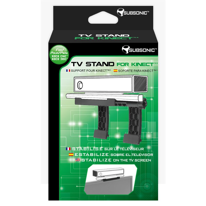 Subsonic tv stand for kinect accessoires xbox one for Support mural xbox one