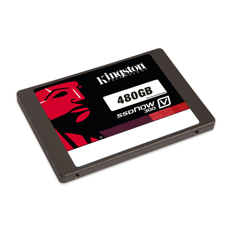 "Disque SSD Kingston SSDNow V300 Series 480 Go SSD 480 Go 2.5"" 7mm Serial ATA 6Gb/s"