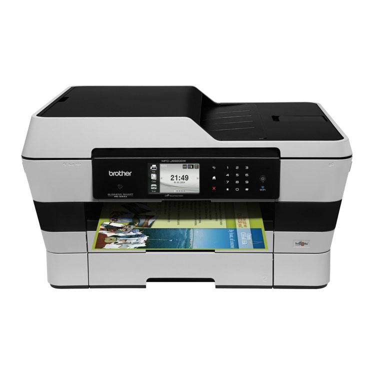Imprimante multifonction Brother MFC-J6720DW Imprimante Multifonction 4-en-1 (Wi-Fi / Ethernet / USB)