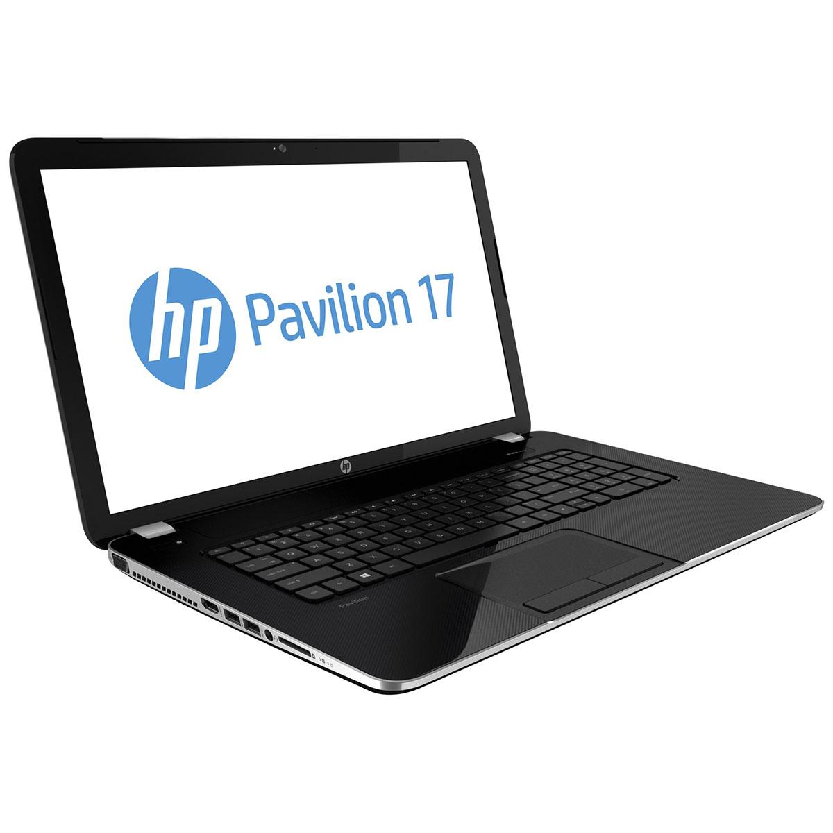 "PC portable HP Pavilion 17-e063sf (E8P61EA) AMD Dual-Core E1-2500 4 Go 500 Go 17.3"" LED Graveur DVD Wi-Fi N Webcam Windows 8 64 bits"