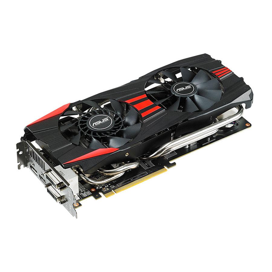 Carte graphique ASUS Radeon R9 280X R9280X-DC2-3GD5 3 Go Dual DVI/HDMI/DisplayPort - PCI Express (AMD Radeon R9 280X)