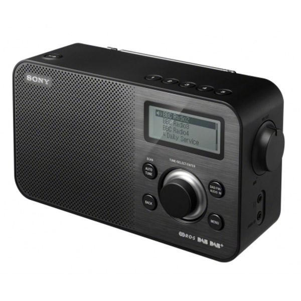 Sony xdr s60dbp noir radio radio r veil sony sur ldlc for Radio numerique portable