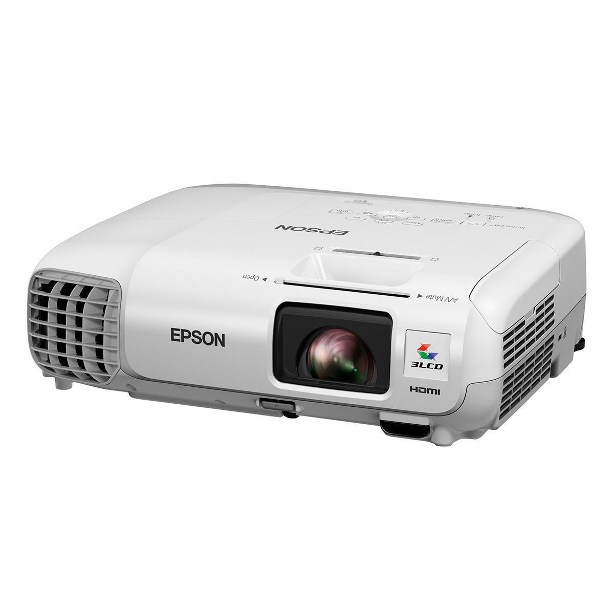 Epson eb w22 vid oprojecteur epson sur ldlc for Meuble videoprojecteur