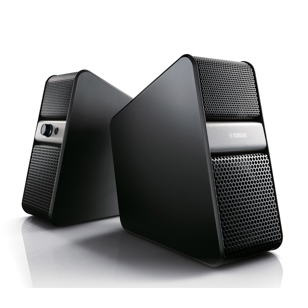 Dock & Enceinte Bluetooth Yamaha NX-B55 Titane Enceintes 2.0 sans fil Bluetooth