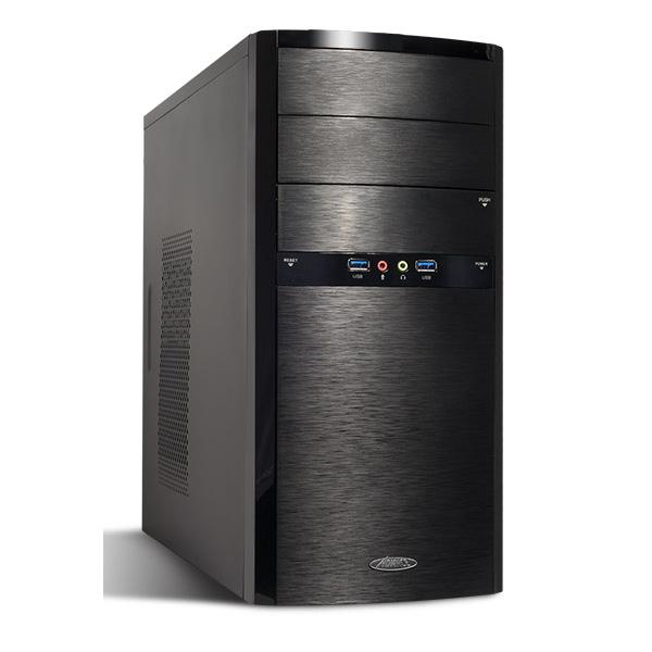 Boîtier PC Advance ELITE (USB 3.0) Boîtier Mini Tour Noir avec alimentation 480W