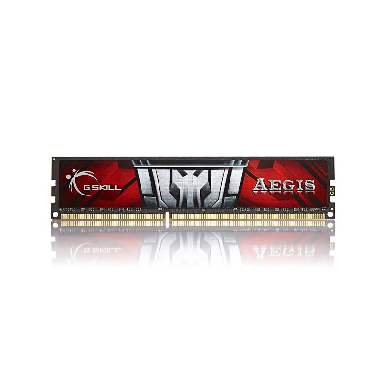 Mémoire PC G.Skill Aegis Series 8 Go DDR3 1600 MHz CL11 RAM DDR3 PC3-12800 - F3-1600C11S-8GIS (garantie à vie par G.Skill)