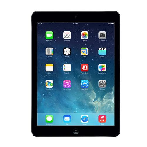 "Tablette tactile Apple iPad Air Wi-Fi + Cellular 32 Go Gris Sidéral Tablette Internet 4G-LTE - Apple A7 1.3 GHz 1 Go - 32 Go 9.7"" LED tactile Wi-Fi N/Bluetooth Webcam iOS 7"