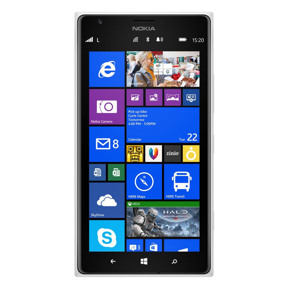 """Mobile & smartphone Nokia Lumia 1520 Noir Smartphone 4G-LTE avec écran tactile Full HD 6"""" sous Windows Phone 8"""