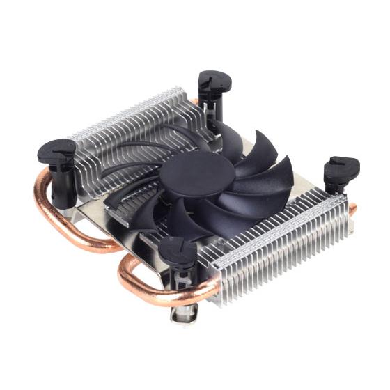 Ventilateur processeur SilverStone Argon AR04 Ventilateur de processeur Low Profile (pour Socket Intel 1155 / 1156)