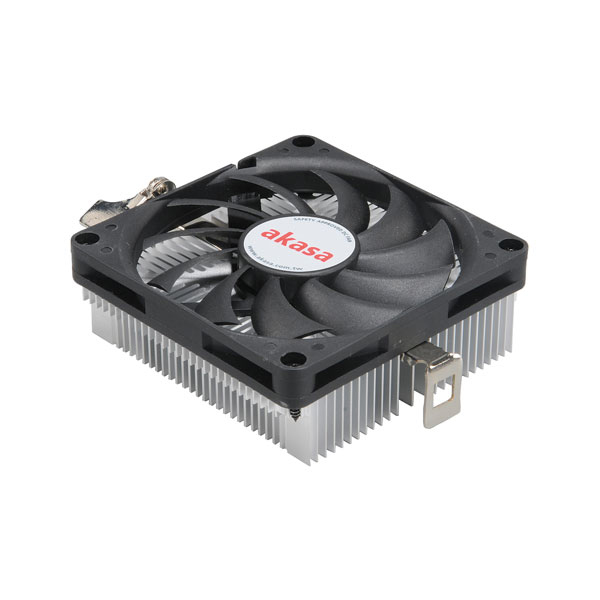 Ventilateur processeur Akasa AK-CC1101EP02 Ventilateur de processeur Low Profile (pour Socket AMD 754 / 939 / AM2 / AM2+ / AM3)