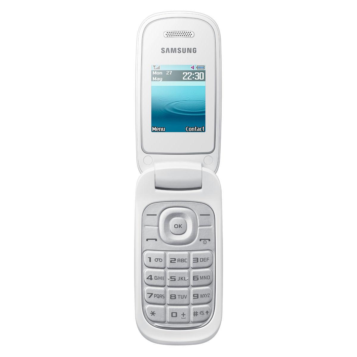 samsung e1270 blanc mobile smartphone samsung sur ldlc. Black Bedroom Furniture Sets. Home Design Ideas