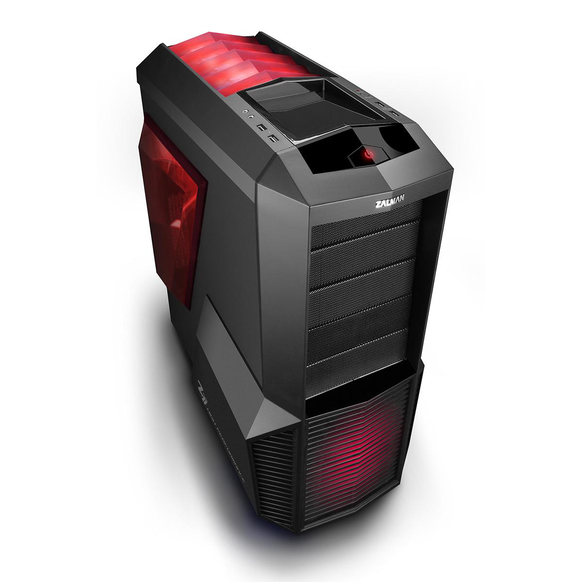 Boîtier PC Zalman Z11 Plus HF1 Boîtier Moyen Tour Noir avec fenêtre