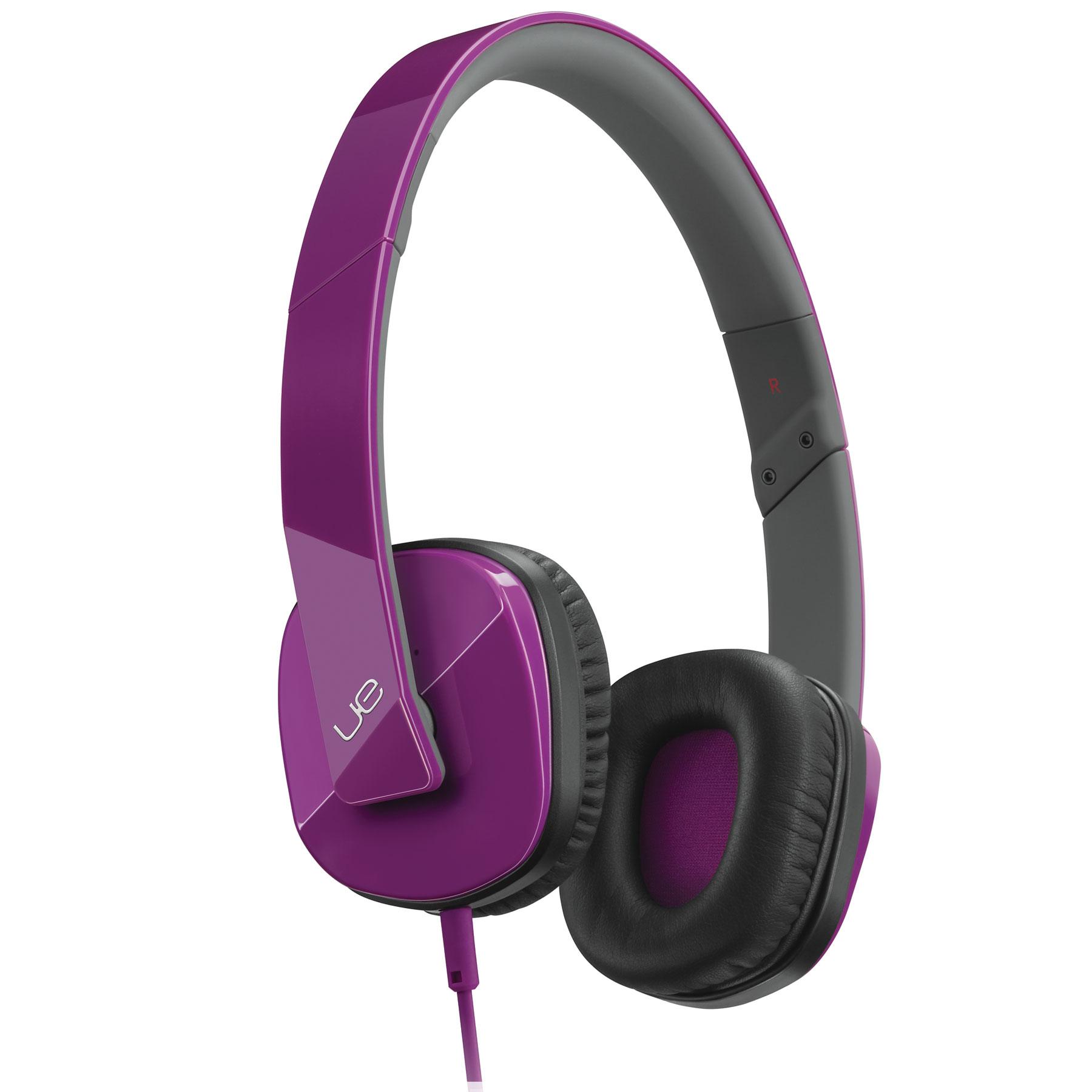 Logitech ue 4000 headphones royal purple casque logitech for Le meuble headsets