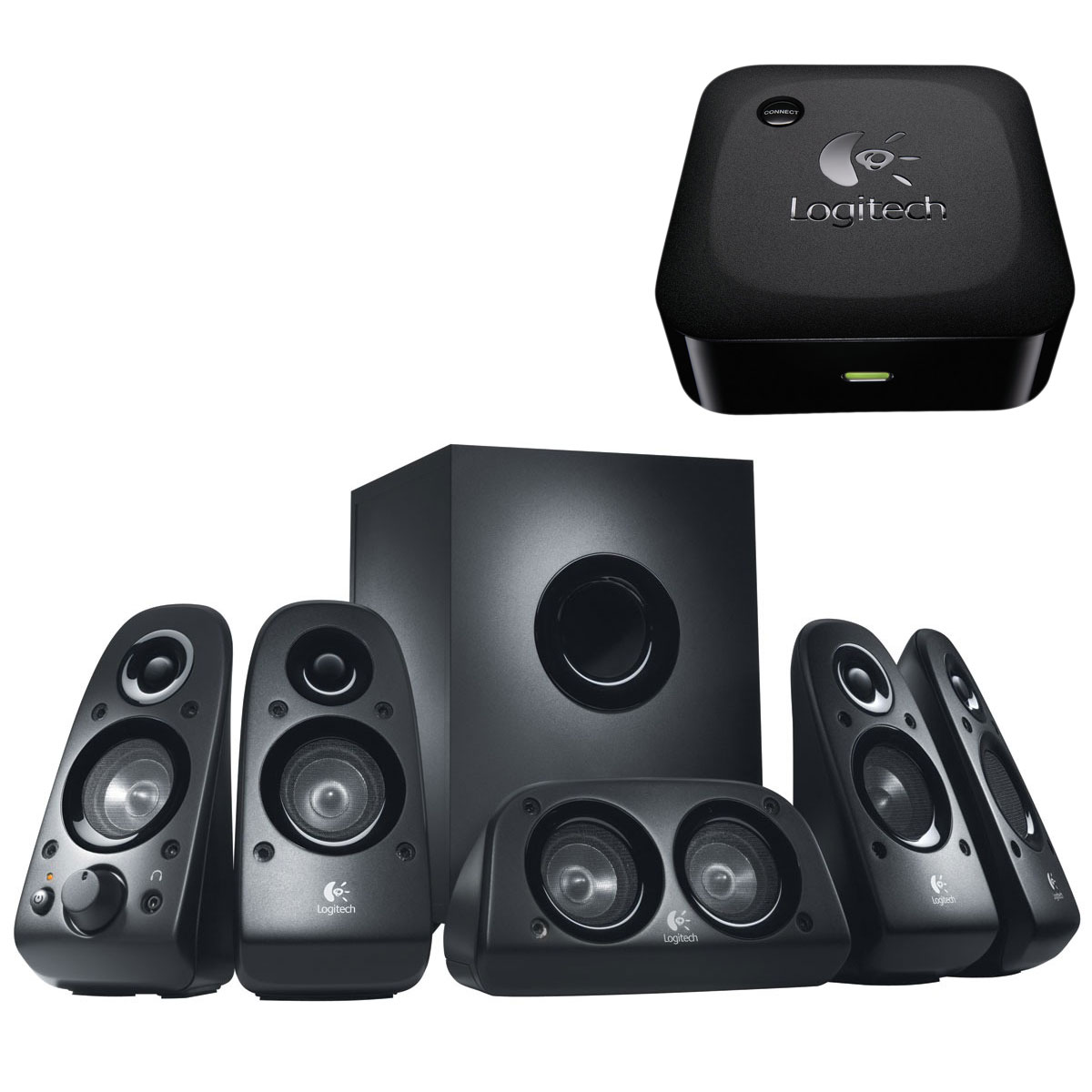 logitech speaker system z506 logitech wireless adapter. Black Bedroom Furniture Sets. Home Design Ideas