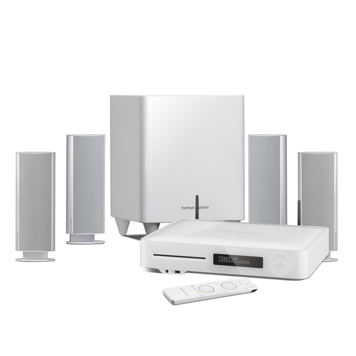 Harman kardon bds 780 blanc bds 780 white achat vente ensemble home cin - Home cinema 2 1 blanc ...