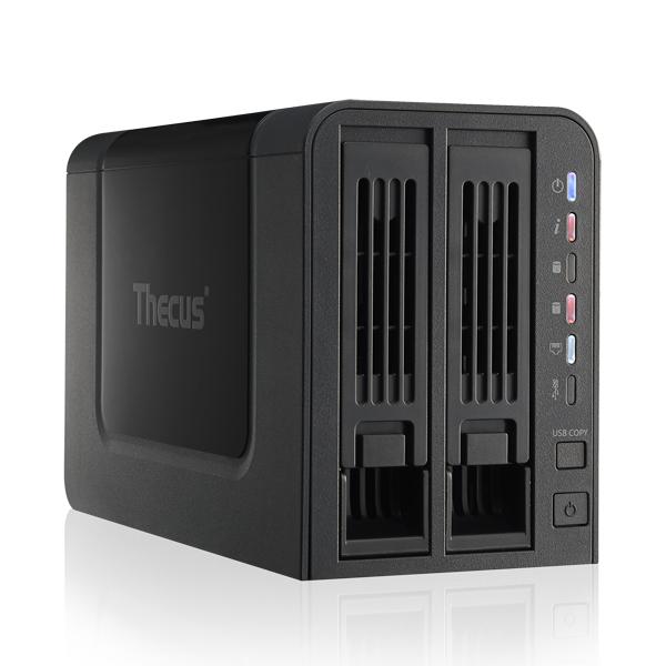 Serveur NAS Thecus N2310 Boîtier externe NAS 2 baies (sans disque dur)