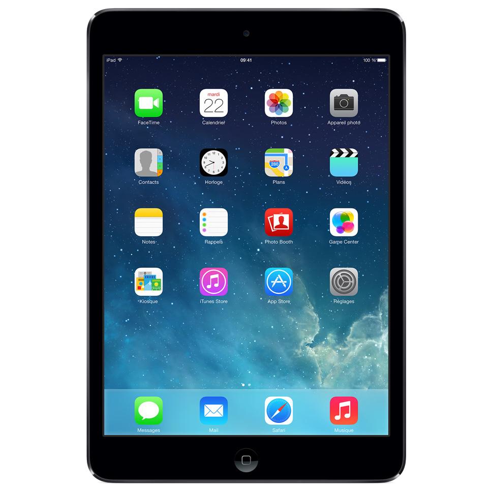 apple ipad mini wi fi 16 go gris sideral tablette. Black Bedroom Furniture Sets. Home Design Ideas