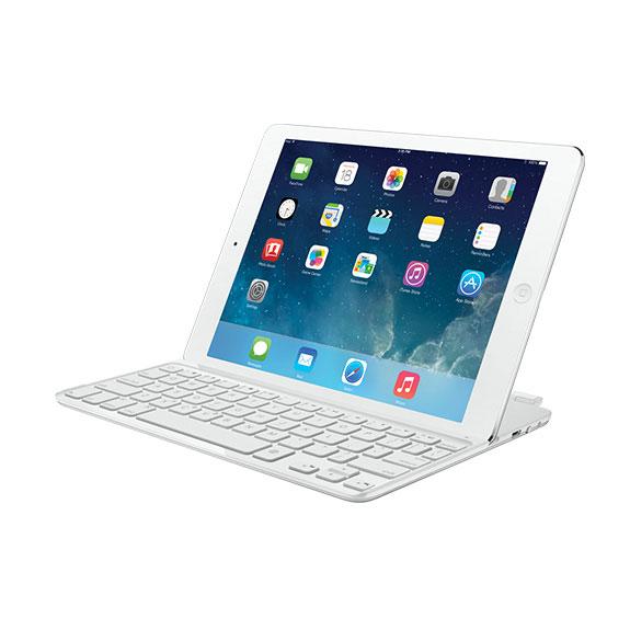 logitech ultrathin keyboard cover blanc accessoires. Black Bedroom Furniture Sets. Home Design Ideas