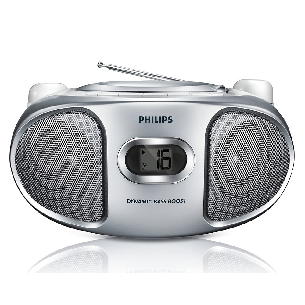 philips az105s argent radio radio r veil philips sur ldlc. Black Bedroom Furniture Sets. Home Design Ideas
