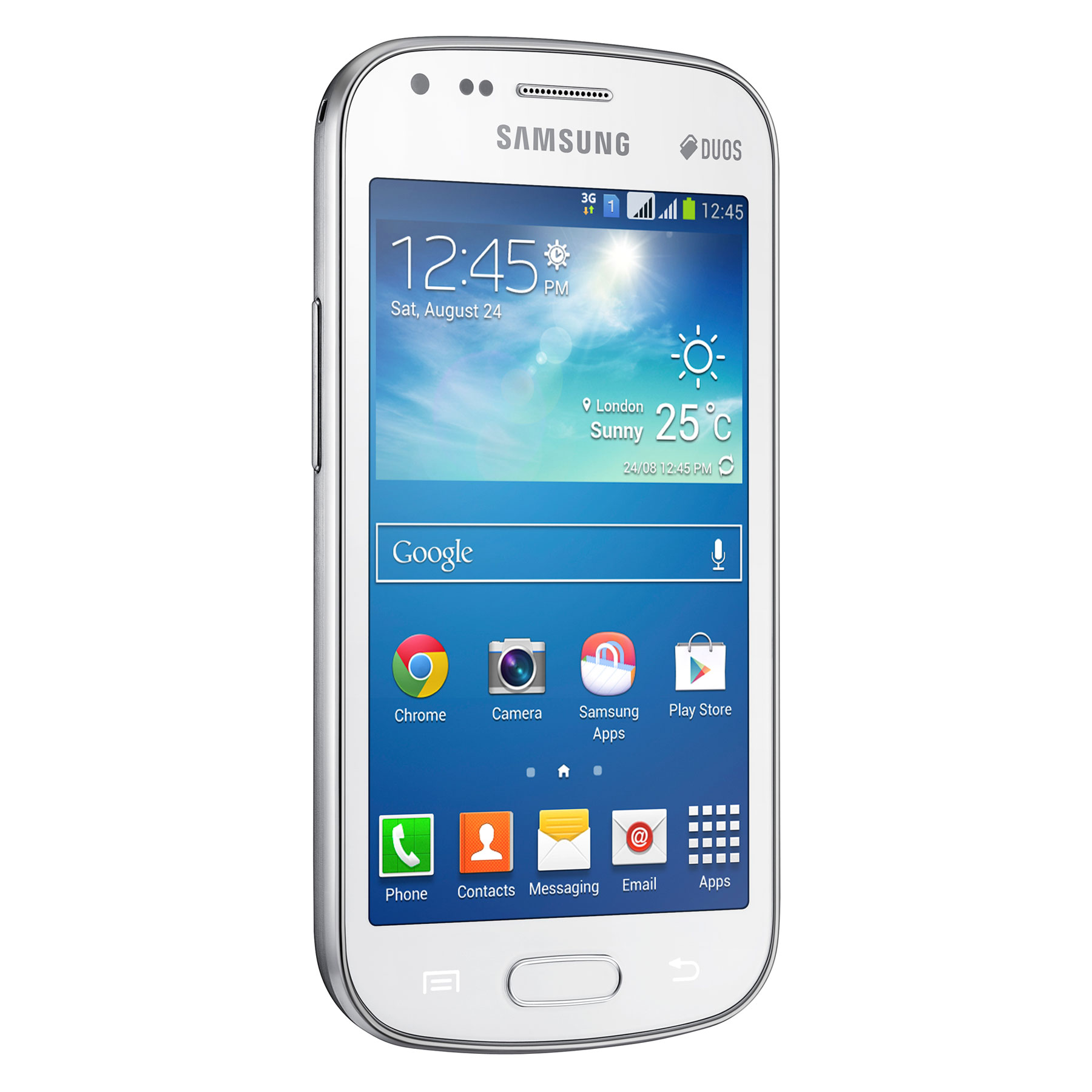 Samsung Galaxy S Duos 2 Gt S7582 Blanc Mobile