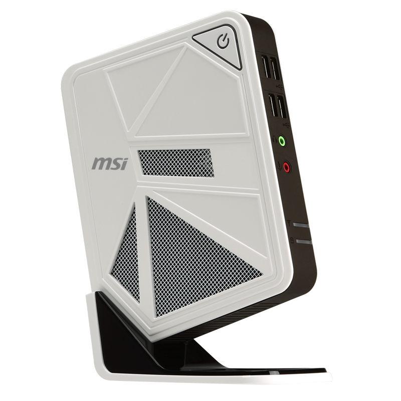 PC de bureau MSI Wind Box DC111-027XEU Intel Celeron 1037U 4 Go 500 Go Wi-Fi N (sans écran)
