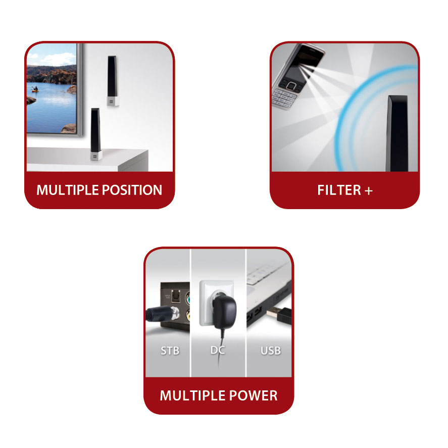 one for all sv 9345 antenne one for all sur ldlc. Black Bedroom Furniture Sets. Home Design Ideas