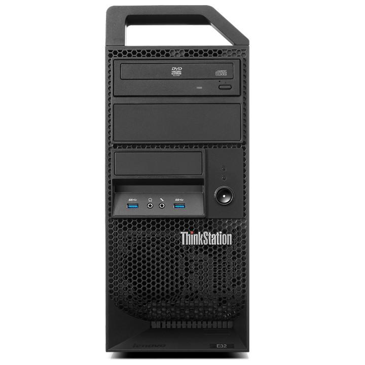 PC de bureau Lenovo ThinkStation E32 30A1 (30A1002DFR) Processeur Intel® Xeon® E3-1225 V3 4 Go 1 To Graveur DVD Windows 7 Professionnel 64 bits (sans écran)