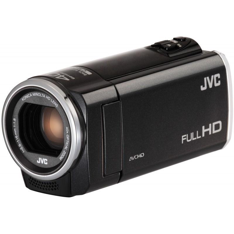 Caméscope numérique JVC GZ-E105BEU Caméscope Full HD Carte mémoire Noire