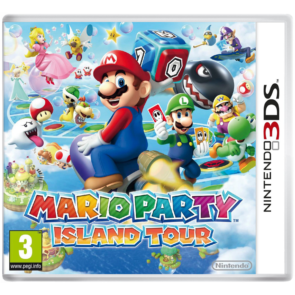 mario party island tour nintendo 3ds 2ds nn01212. Black Bedroom Furniture Sets. Home Design Ideas