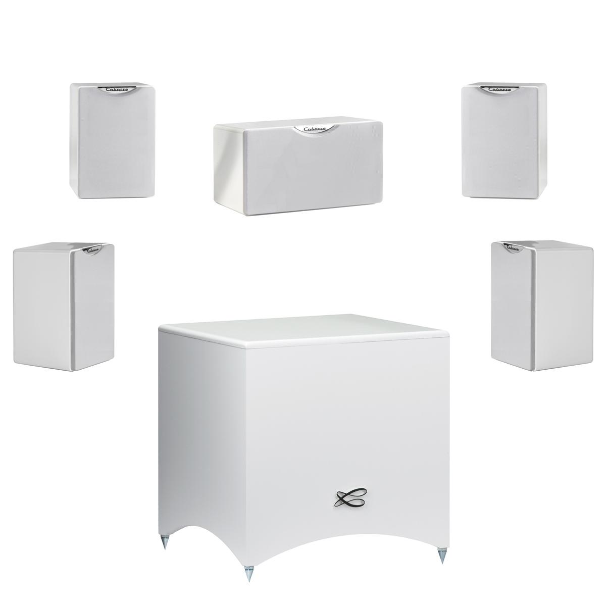 cabasse pack fidji 5 1 blanc enceintes hifi cabasse sur ldlc. Black Bedroom Furniture Sets. Home Design Ideas