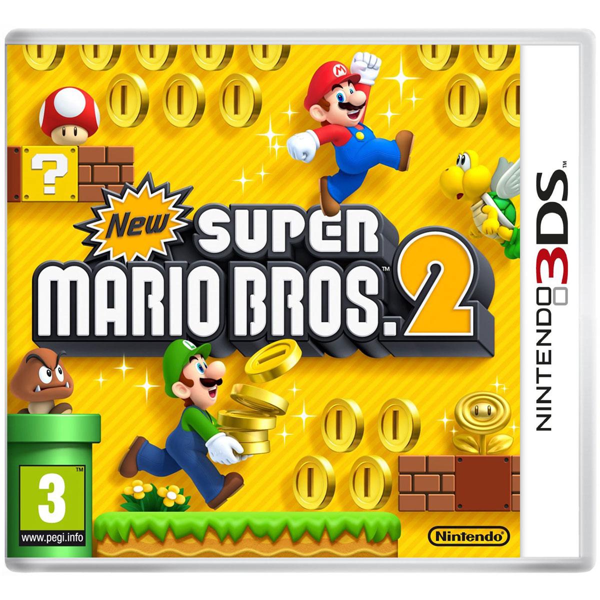New Super Mario Bros 2 (Nintendo 3DS/2DS) - Jeux Nintendo ...