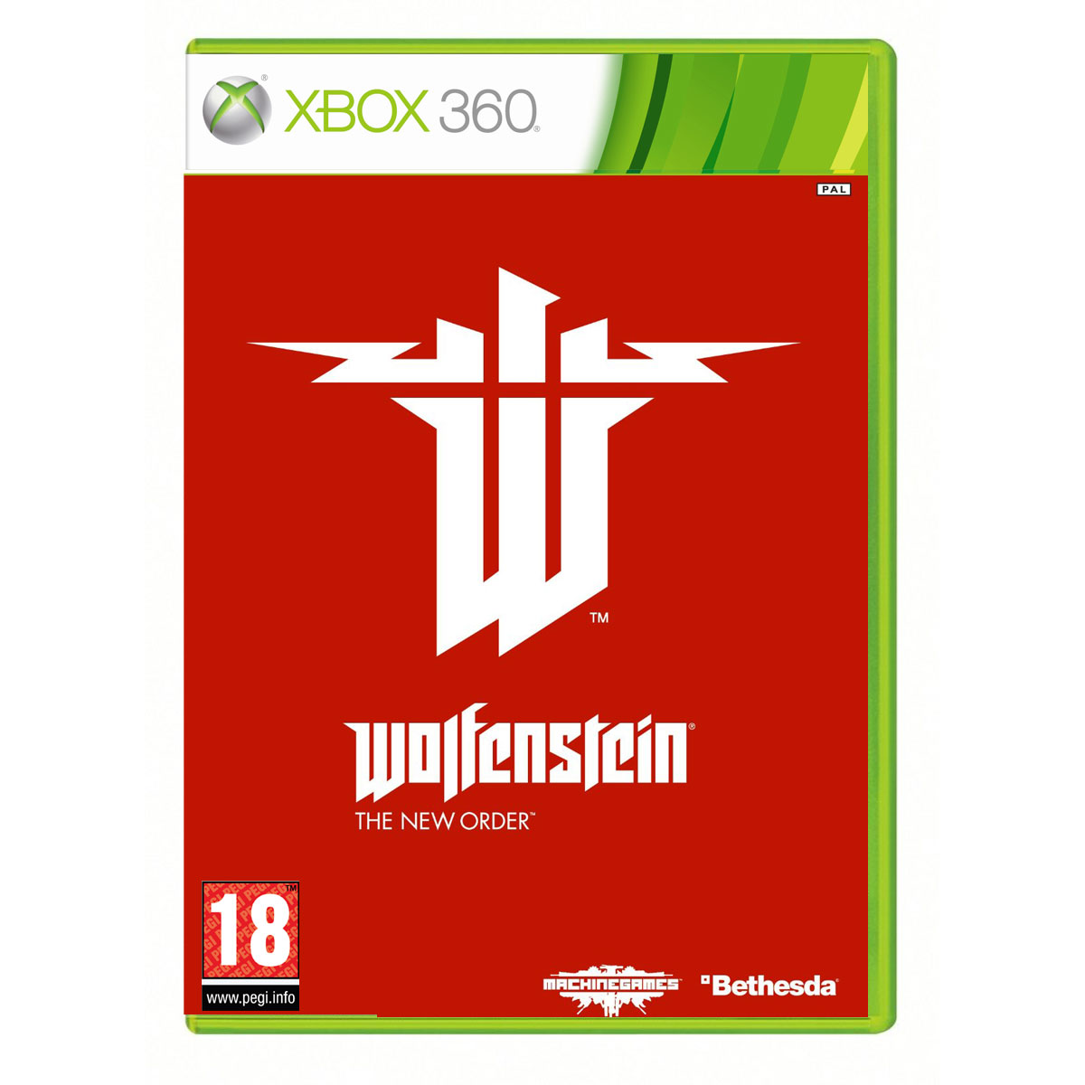 Jeux Xbox 360 Wolfenstein : The New Order (Xbox 360) Wolfenstein : The New Order (Xbox 360)
