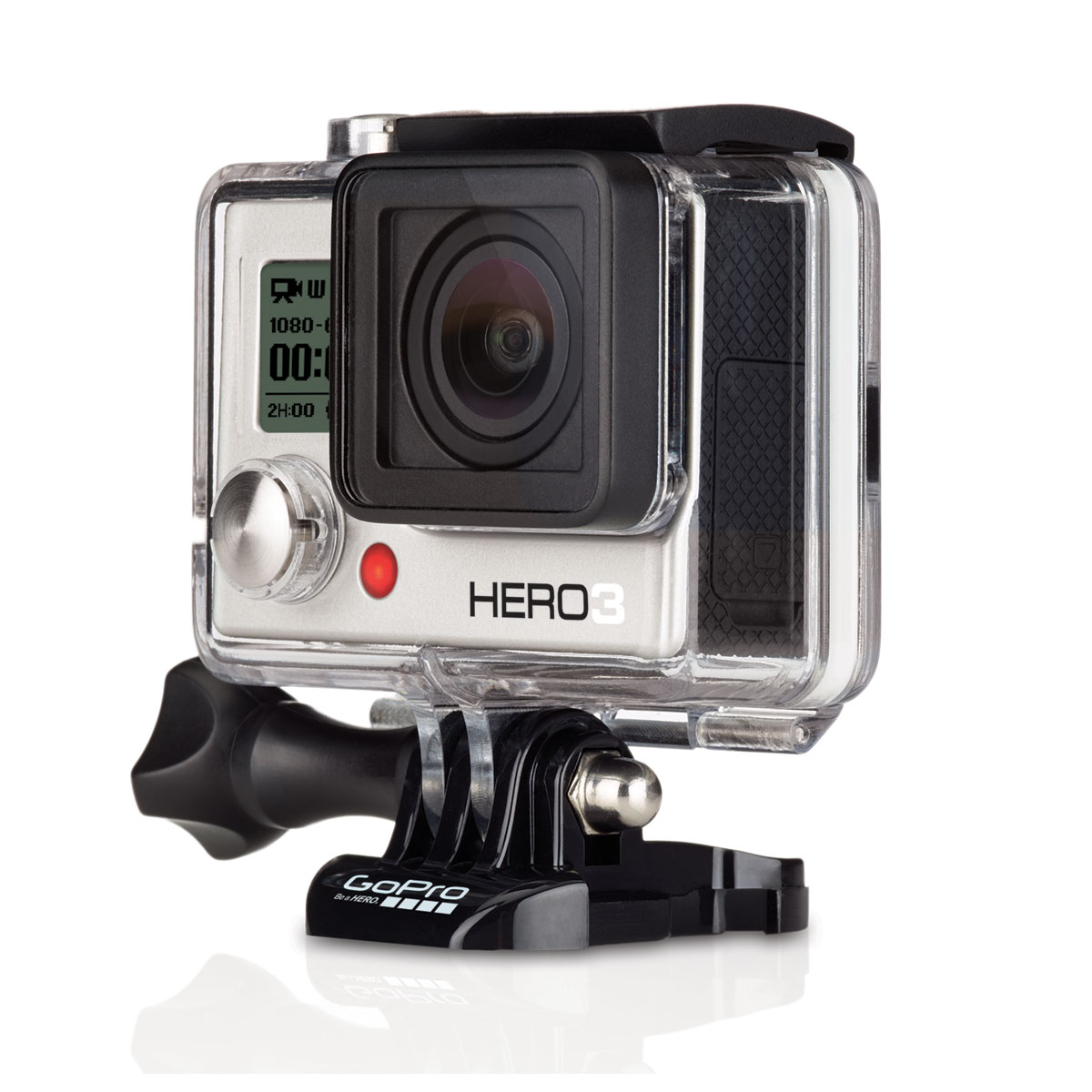 gopro hero 3 white edition 2014 bo tier slim cawh3s achat vente cam ra sportive sur. Black Bedroom Furniture Sets. Home Design Ideas